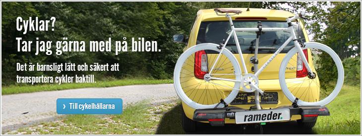 Cyklar? Tar jag gärna med på bilen.