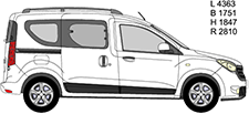 DOKKER Minibus, minivan (KE_)