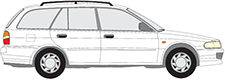 LANCER V Station Wagon (CB_W, CD_W)