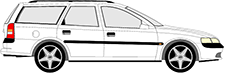 VECTRA B Kombi (J96)