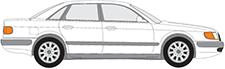 100 C4 Sedan (4A2)