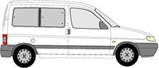 PARTNER Minibus, minivan (5_, G_)