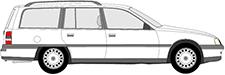 OMEGA A Kombi (V87)