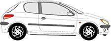 206 Halvkombi (2A/C)