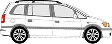 ZAFIRA A Minibus, minivan (T98)