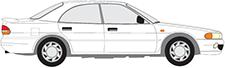 GALANT VII Sedan (E5_A, E7_A, E8_A)