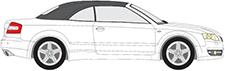 A4 B6 Cabriolet (8H7)